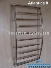 The Atlantica 8/450 heated towel rail height is