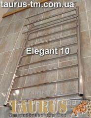 The Elegant 10 heated towel rail width is 450 mm.