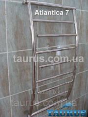 The Atlantica 7/400 heated towel rail height is
