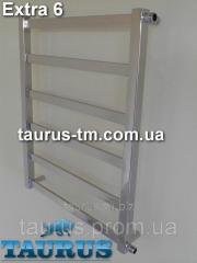 Heated towel rail design Extra 6 (width of 500