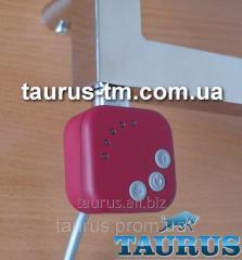 Красный ТЭН квадратной формы. Регулятор + таймер