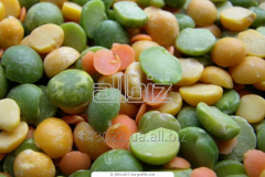 Peas hulled