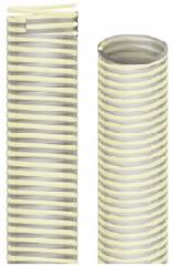 PVC sleeve corrugated FOOD 40F+ PU Nettuno PU (30