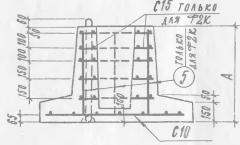 Foundation plates pod F2 P6v