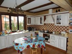 Bath from logs