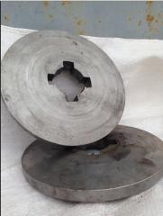 BPD washer frigate, disk Washer convex (shlitsevy)