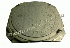 Пресс-форма для изготовления люка колодца