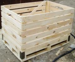 Поддон-контейнер деревяный