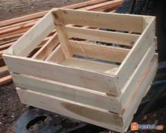 Box for apples wooden