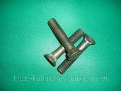 GOST 7786 M16x75 knife dump bolt potay + square