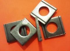 Washer slanting M20 DIN zinc 434 or in accordance