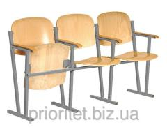 Assembly hall chairs 3-seater (0246)