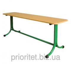 Bench 2-seater strengthened bent legs (80376)
