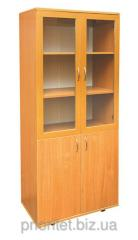 Bookcase with glass doors (0641P)