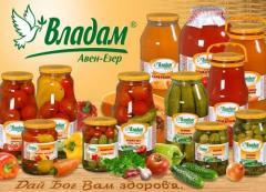 Cucumber pickles on house Tm Vladam of 1,85 kg
