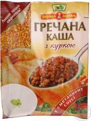 Каша Тм Эко овсяная со сливками и персиком 41 гр*5