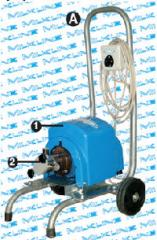Mobile dairy pumps