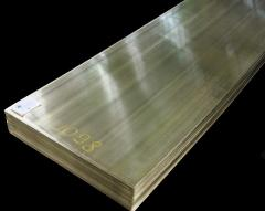 Sheets are copper-nickel hot-rolled