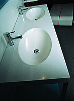 Sink from an artificial stone