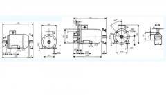 Электродвигатели трехфазные асинхронные...