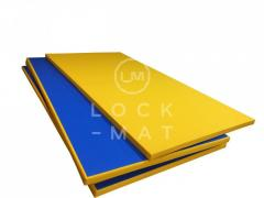 Wrestling mats of a tatami with the PVC covering,