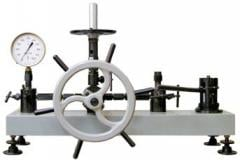 MP-60. Deadweight manometer of MP-60 of accuracy