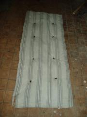 Mattresses, pillows wadded