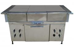 Electric stove industrial 4-6kamforny