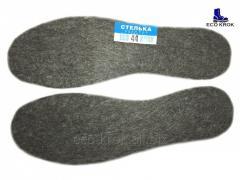 Insoles winter for the FELT footwear