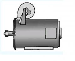 Electric motor of direct current of MPVE 400-400