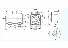 Электродвигатели постоянного тока типа 5П габаритов 100-160