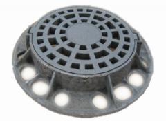 Drain inlet pig-iron heavy round recreation