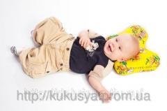Детская ортопедическая подушка Бабочка  для
