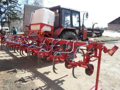 KRN cultivator for introduction of KAS-32