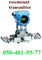 Rosemount pressure transmitter. Преобразователь