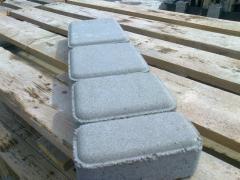 "Stone blocks ""the OLD CITY"" of gray 45"
