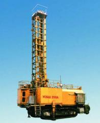 Drilling rigs of SBSh-250 and spare parts to drilling rigs