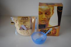 Cosmetic face pack on the basis of gold 24K, B3