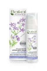 Cream for face night detox