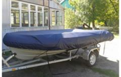 Tent covers on boats, boats