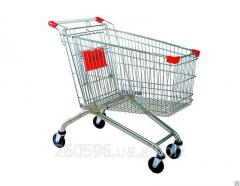 Carts and baskets for supermarkets