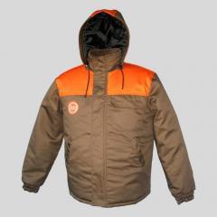 Jacket worker winter warm Dnipropetrovsk
