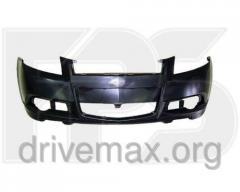 Передний бампер Chevrolet Aveo HB 08- DM1710900