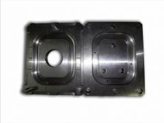 Compression mold for curing of rubber products