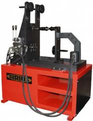 The machine for straightening of motorcycle disks Sirius Motor-