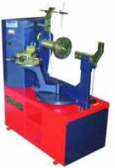 The machine for straightening of cast disks Sirius the Hail R manual hydraulic pump