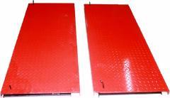 Back movable platforms