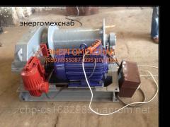 Лебедка электрическая  ТЛ9А , ТЛ10 , ТЛ 7А , ТЛ-7Б