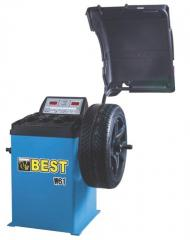 The balancing machine for wheels of Best W 61 cars