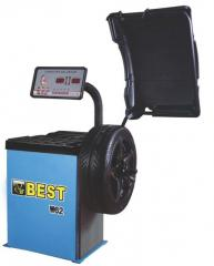 The balancing machine for wheels of Best W 62 cars